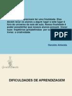 Dificuldades Recife