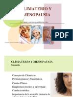 Climaterio y Menopausia. Dra. Maria Luisa Hernandez Mendez PRESENTACION POWER POINT