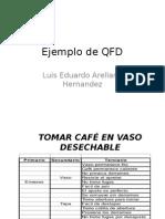 Ejemplo de QFD