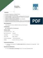 Naveen QA Test 3 QTP Certified
