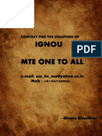 Maths assignment  Solution of Ignou