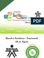 Informe Final Inauguración y Conferencias TECNOCUERO 2015