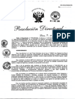 RD 003 2015 Digesa SA Acta Higiene Sanitario para Mype