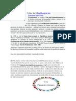 14 de Abril Día Mundial Del Panamericanismo