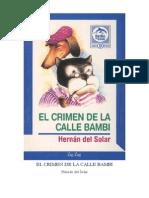 Hernan Del Solar - El Crimen de La Calle Bambi