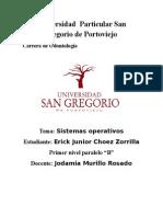 """Sistemas-operativos """"Clasificación, ventajas y desventajas"""""""