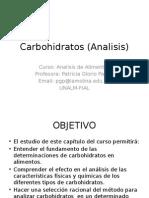Carbohidratos (Analisis).pptx