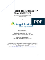 Customer Relationship Management Project Report