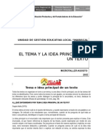 Separata Idea Principal
