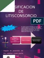 Clasificacion de Litisconsorcio