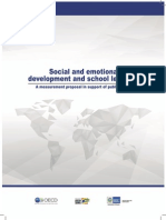 Social and Emotional Developmente and School Learning