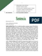 Sentencia Exp N° 2554-2009