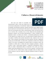 ORTIZR. Cultura e Desenvolvimento