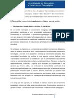 Romero Pérez_conocimiento, Accion y Racionalidad en Educacion CAPITULO 2