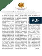 Boletin El Abrazo Nro. 23 del 14.12.2014