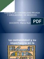 Gabinete de Contabilidad Priv. Sn. i Unidad
