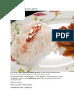 Receta Pollo Guisado Estilo Asiático
