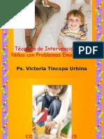 Técnicas de Intervención Para Niños Con Problemas Emocionales