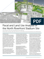Fiscal and Land Use Analysis of the North Riverfront Stadium Site - St. Louis, MO
