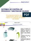 Sistemas de control de procesos y Gestión de Calidad