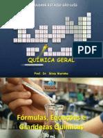 3 Fórmulas - Equações - Grandezas