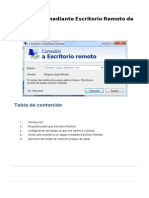 MANUAL ESCRITORIO REMOTO