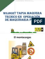 Curso Montacargas Clases Accesorios Funcionamiento Partes Estabilidad Operacion