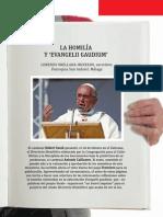 Homilía y Evangelii Gaudium