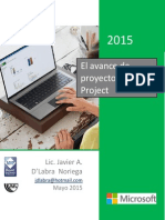 Avance en Proyectos