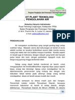 PilotPlantTeknologiPengolahanAir