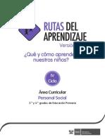Documentos Primaria PersonalSocial IV
