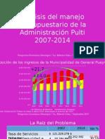 Análisis Del Ingreso Gasto MGP 2007-2014