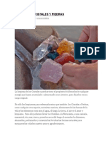 Limpieza de Cristales y Gemas