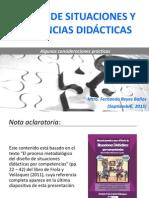 Diseño de Situaciones y Secuencias Didácticas