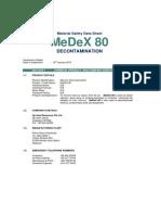 MeDeX_80_MSDS