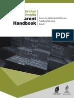 CCSSM Parent Handbook MS