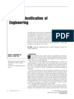 The Complexification of Engineering