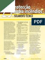 Catalogo ISOVER - Proteção Contra Incendio