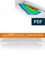 GTS 2013(v2.1) Release Note