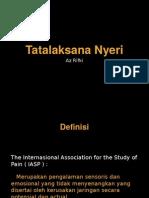 Tatalaksana Nyeri