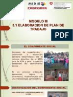 III.1 Elaboracionplan de Trabajo 2015