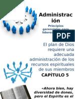 Administración 5. Principios gerenciales para líderes cristianos