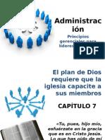Administración 7. Principios gerenciales para líderes cristianos