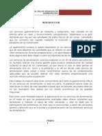SEMINARIO La Gastronomía y Su Rol en Los Servicios de Alimentacion 1