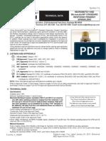 Technical Data Pendant Sprinkler Type - Viking