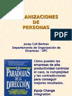 Organización de Personas