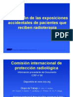 ICRP 86 RT Accidents s1 Espanol Final