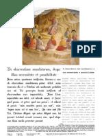 De Observatione Mandatorum, Deque Illius Necessitate Et