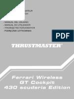 F430 Cockpit 7 LanguagesCockpit ferrar