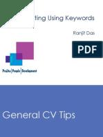 CV Writing Using Keywords